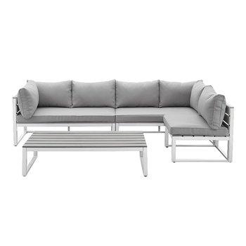 Living Room Sofas Modern Style Stainless Steel Frame Black Color 7 ...