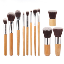 1 bamboo cosmetic brush bamboo handle blush powder makeup brush