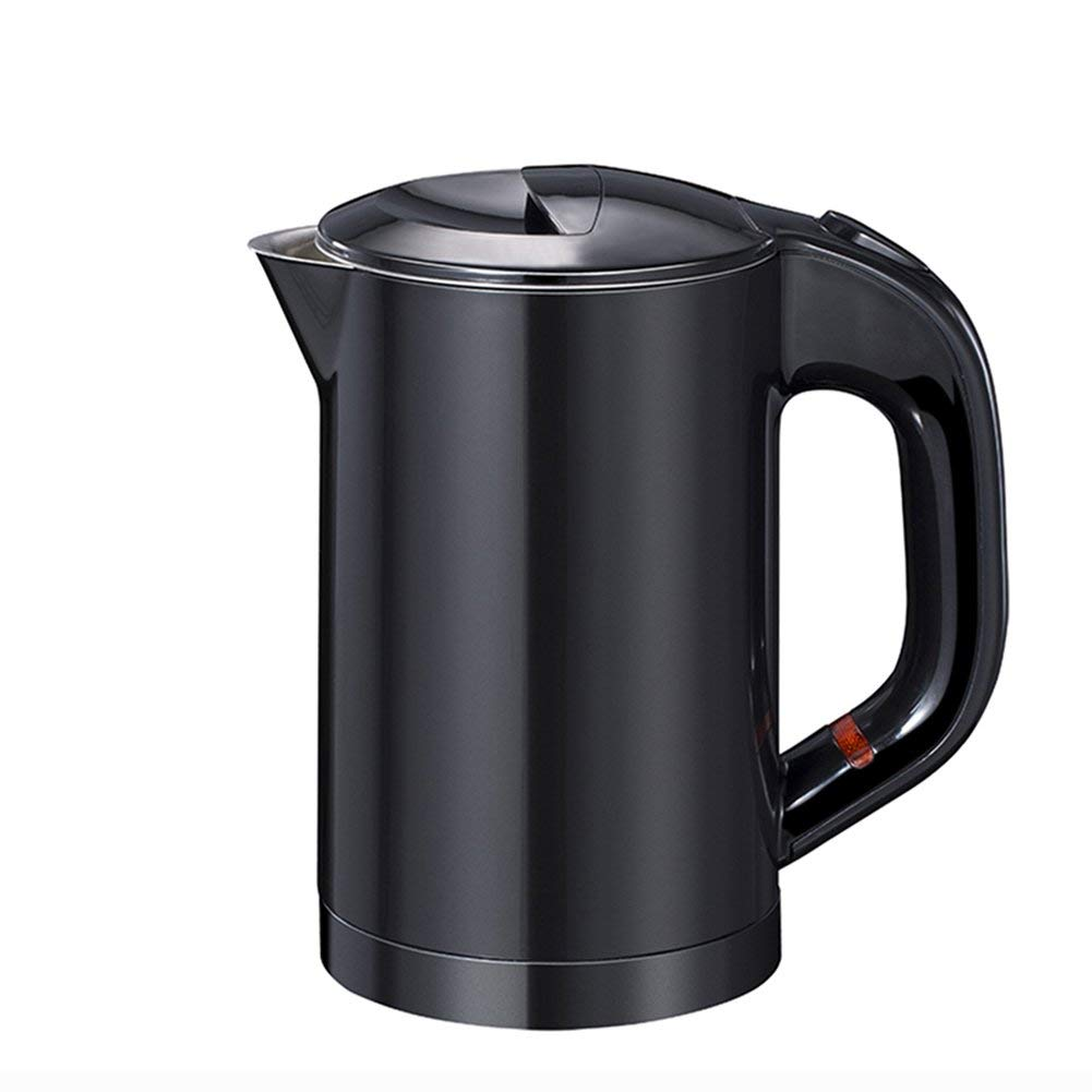 Kettle, Stainless Steel Silent Electric Kettle -600ML (black) Size: 15x17.5cm ++