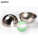 Europe safe grade bath salt ball 304 stainless steel bath bomb molds