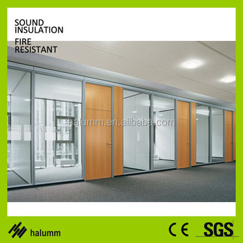wooden office partitions. Contemporary Wooden Decorative Glass Partitions Double Glass And Wood Fixed High Office  Partition Aluminium Wall With Wooden Office Partitions A