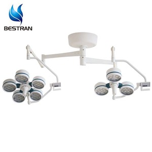 BT-LED3+5C Hospital Surgery Lighting System Two Heads Ceiling Surgical Shadowless LED Operating Lamp For Sale