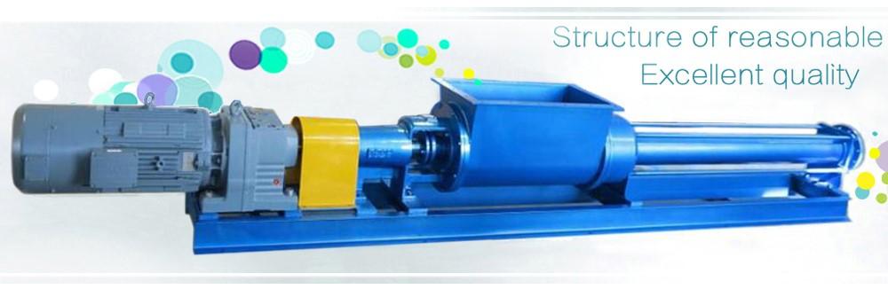 High quality Hopper screw pump for viscous pastes;cod-liver oil;sausage paste;dough;potato pulp;Grout ,Hopper screw pump