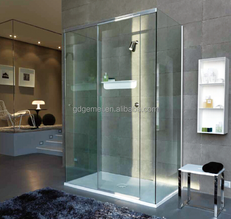 Custom acrylic solid surface shower tray/shower base/shower pan
