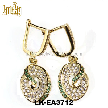 Hot Selling Wholesale Factory China New Models Of Gold Earring