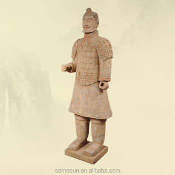 Meilun World Famous Qin Dynasty Terracotta Warriors Souvenir Life Size Indoor Outdoor Decoration Gifts Collection