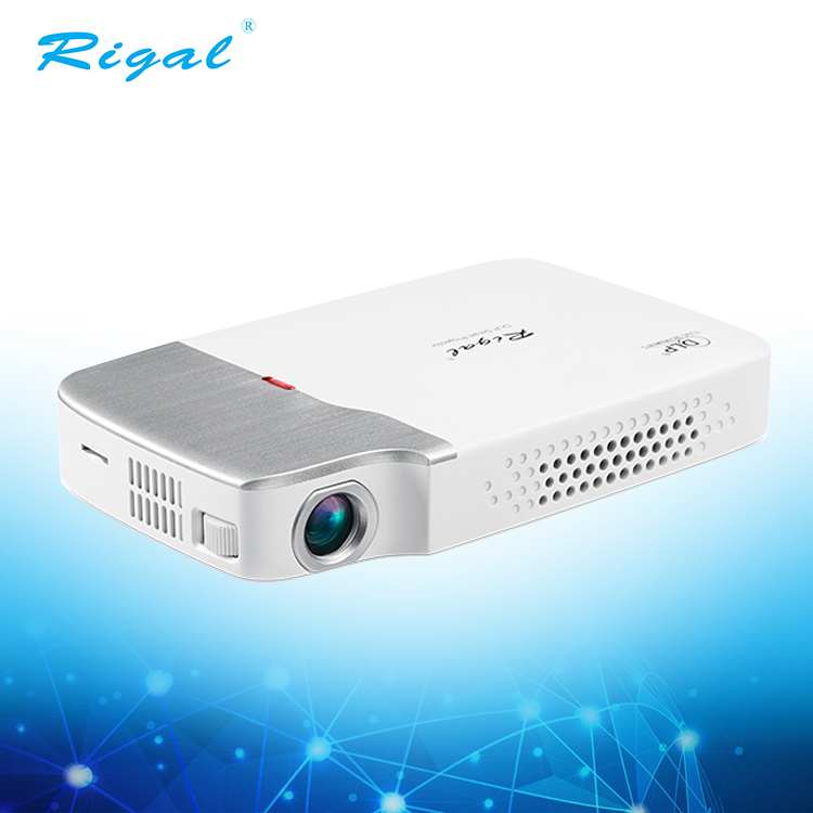 Mini HD pocket portable 3d led wifi android pico DLP smart Projector outdoor and home projector фото