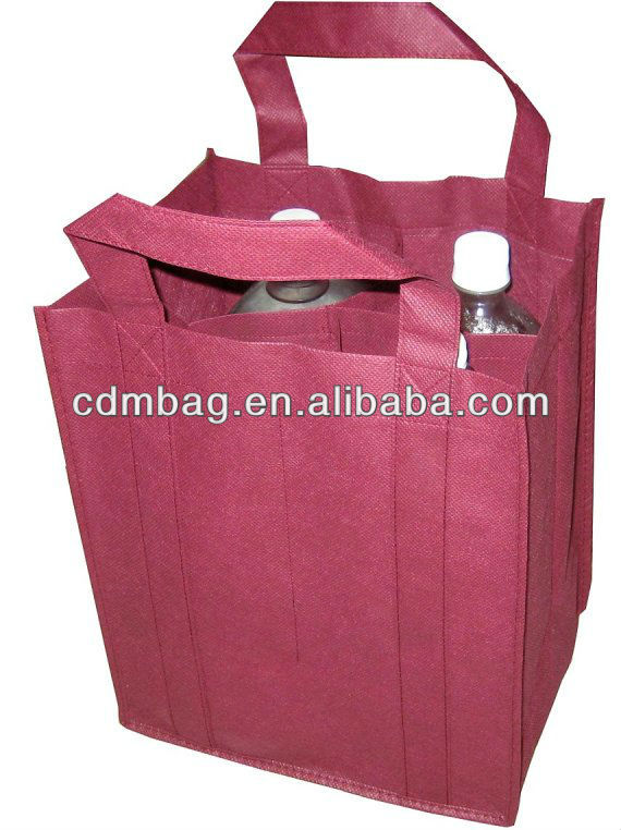 Non woven Wine bag /bottle bag/Non woven bottle holder
