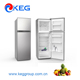 268L Hotel and Home Use Domestic White House Upright Freezer Fridge Water Dispenser Frost Free Double Sided Refrigerator