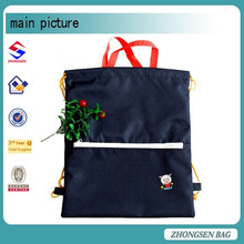 Rope handle drawstring bag for kids nylon custom drawstring bag from china mainland