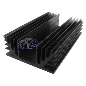 Factory Price Square Extruded Aluminum Heatsink / Anodized Heat Sink Extrusion for Led