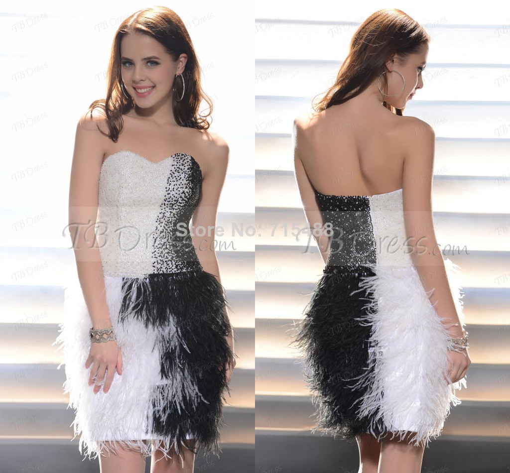 Coupons For Home Design Outlet Center 2014 New White And Black Short Feather Beaded Western
