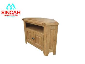306rl Range Solid Oak Corner Tv Stand/oak Wood Corner Tv Stand ...