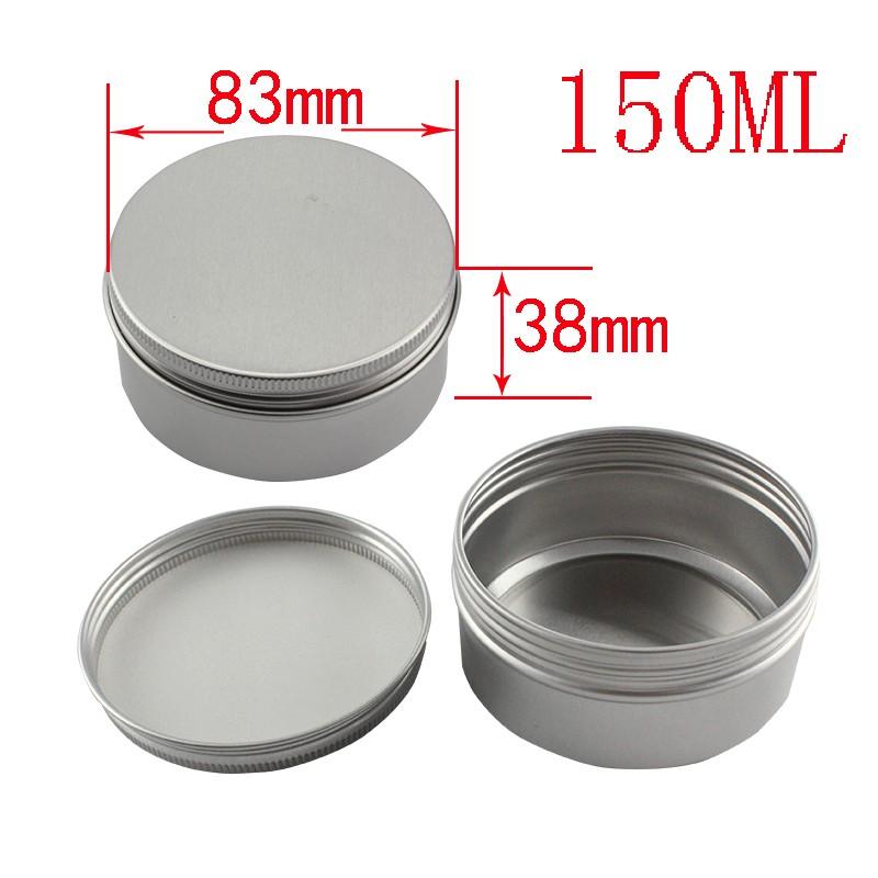 Cosmetische tin aluminium fles cosmetische verpakking 10g 15g 20g 30g 40g 50g 60g 80g 100g 150g 200g 250g 350g