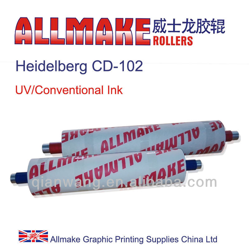 Vulcanized Rubber Roller for Heidelberg CD-102