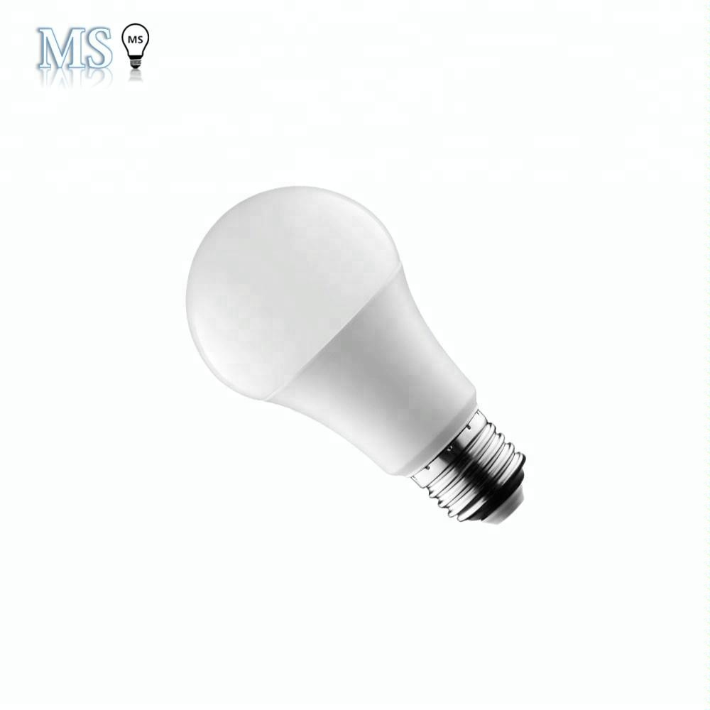 Zhongshan factory hot sale 7w 9w 12w A60 e27 led bulb lamp