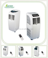 Lower price 7000btu 9000btu 120000btu Cooling only R410A Portable air conditioner AC Air Conditioner for Room Using