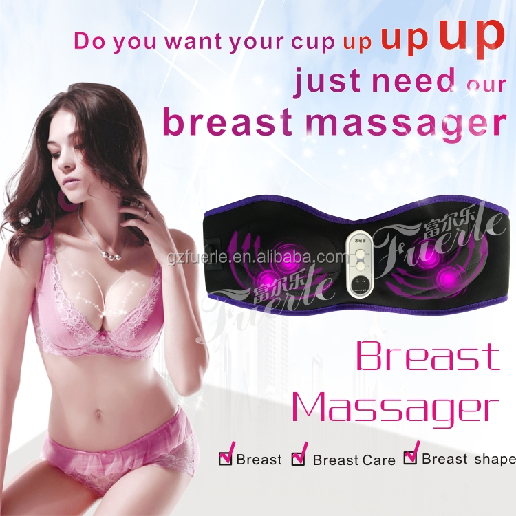 health and beauty breast massager with infrared