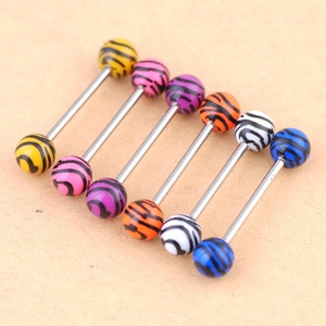 Stainless Steel Internal Thread Lip Piercing Labret Ring