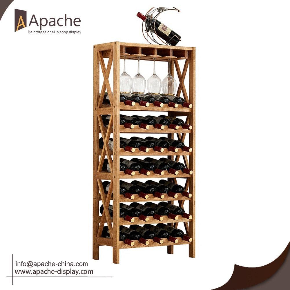 america furniture glass dp mounted of kitchen and holder walnut cupboard home amazon ca lab venire wine rack wall enitial