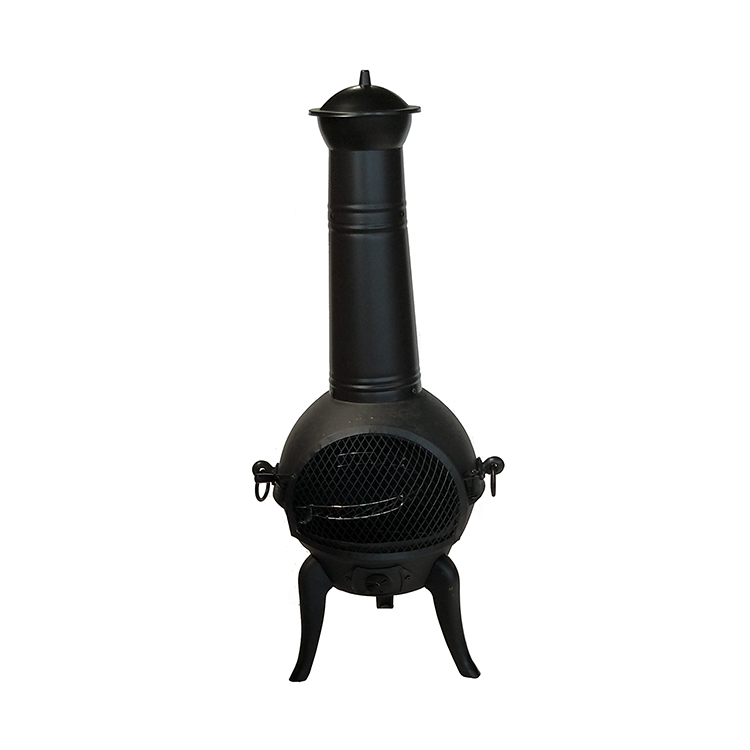 Attractive Fashion Lowes Chiminea Cast Iron Heat Resistant Paint and Powder Coated Painting Chimeneas Poker and BBQ Grill