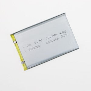 Hottest 3.7 V lipo batteries 606090 3000mah lipo prismatic cells for GPS