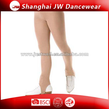 Pantyhose white stirrup