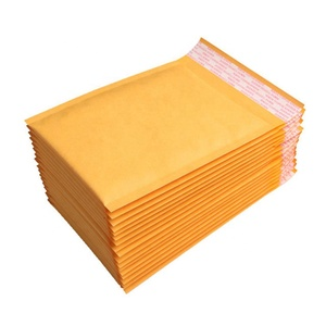 Kraft Bubble Material Bubble Mailers Padded Envelopes Self Seal Yellow Mailing Bag Free Samples
