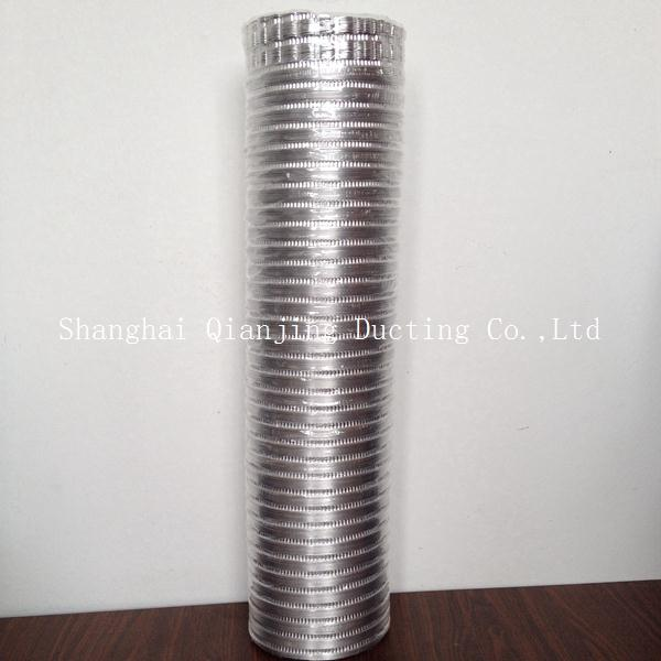 Hvac 0.08mm thickness 100% aluminum duct with best price