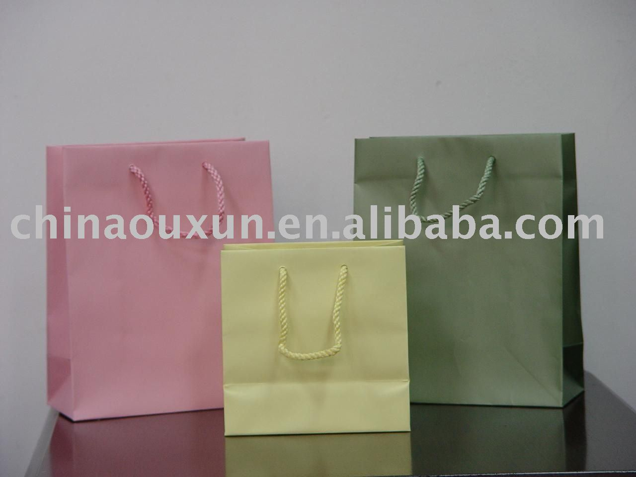 2010 fashion shopping gift bag