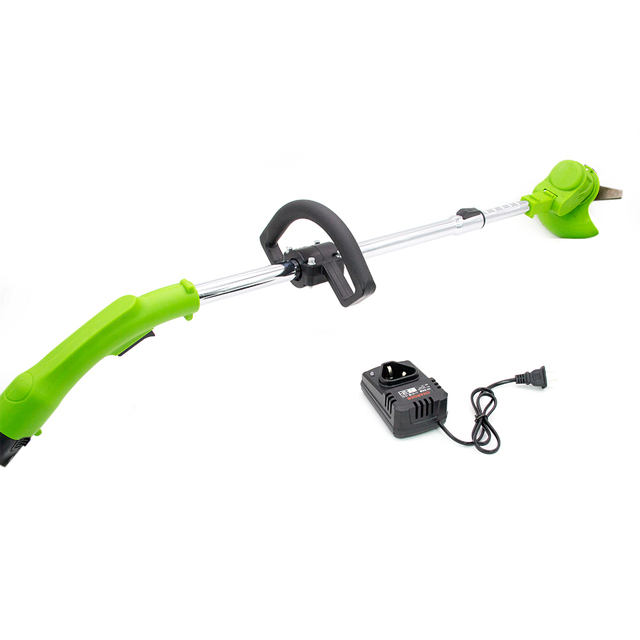 Lightweight Electric Cordless Grass Trimmer cutting machine Garden brush cutter fast
