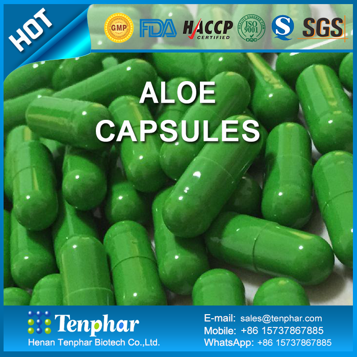 Herbal Supplements Extract Essential Oil Aloe Vera Softgel Capsules
