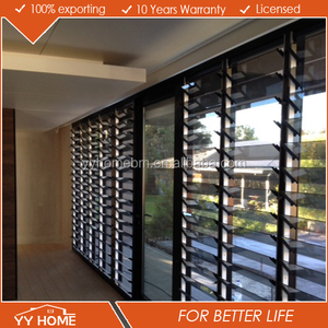 YY Home louvers double glazed glass with louvers double glazed glass louvres