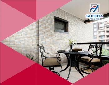 Nuovo design per le mattonelle della parete interna con texture di