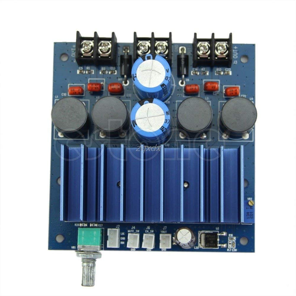 Hariier TDA7498 100W +100W High-power Digital Amplifier Board AMP Board with Radiator July DropShip