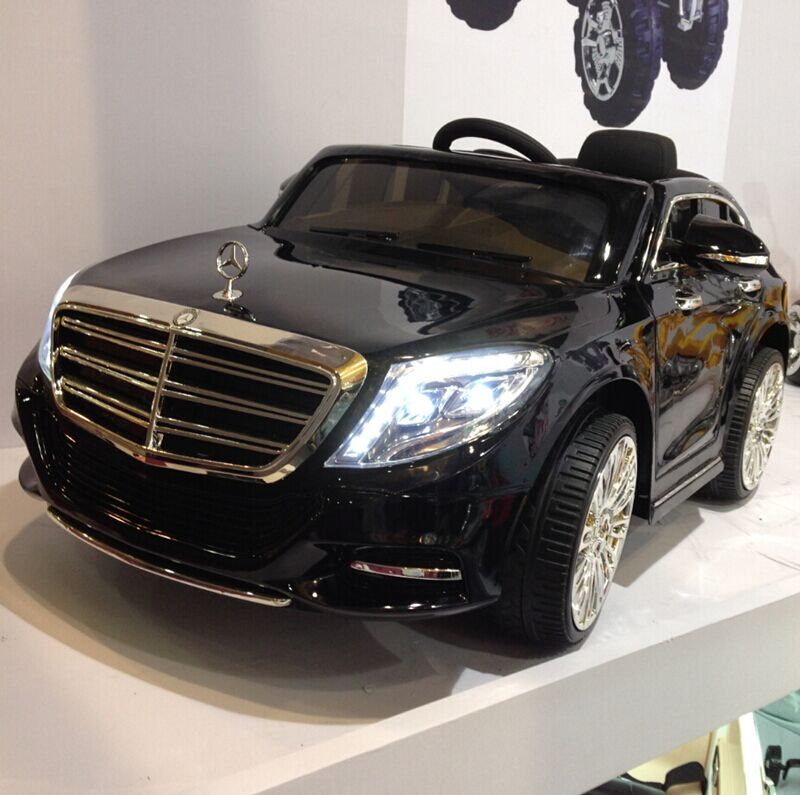 2017 Hot selling Mercedes Benz S600 Licensed Ride on Car for kids to drive