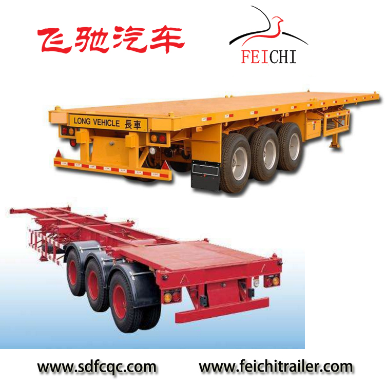 Hot sale 40 foot container chassis price