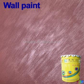 Interior Wall Coating- Liquid Acrylic Resin Fireproof Waterproof Metallic  Interior Texture Brush Metal Texture Paint - Buy Metal Texture