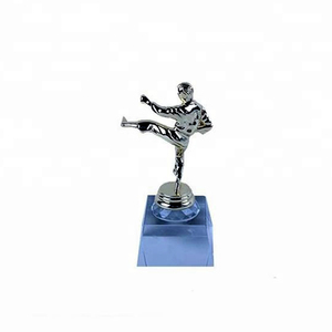 ballroom dance boxing glove sports metal golf taekwondo trophy cup parts for soccer