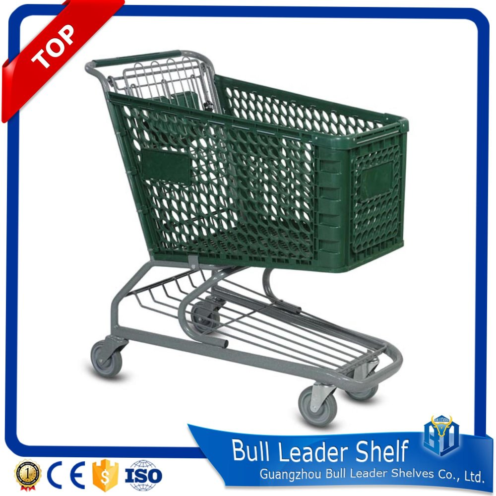 retail plastic cart dimensions supermarket trolley super market plastic grocery shopping mall trolley