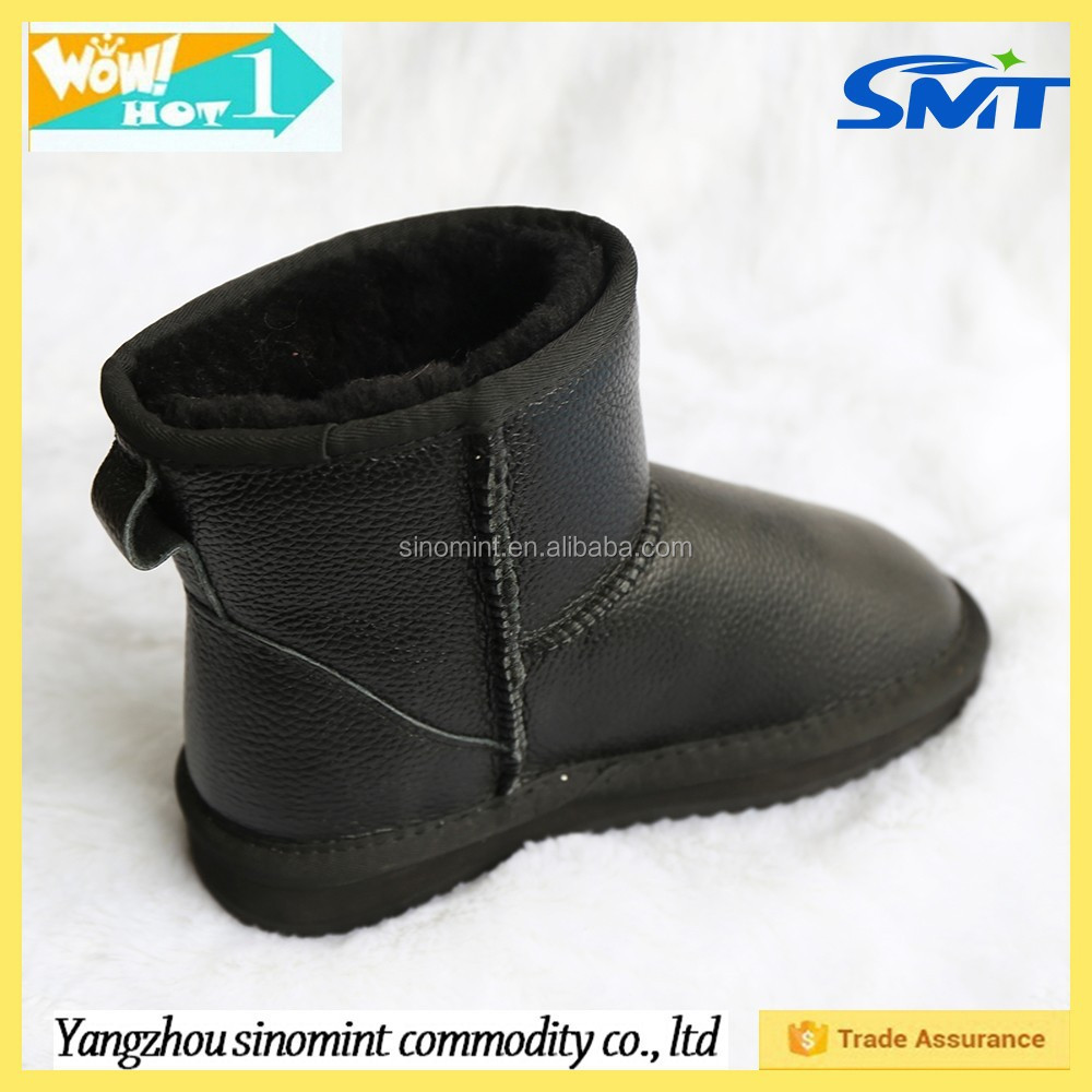 boys and men's fox fur boots