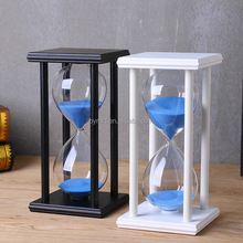 Custom glass hourglass sand timer 30 minute