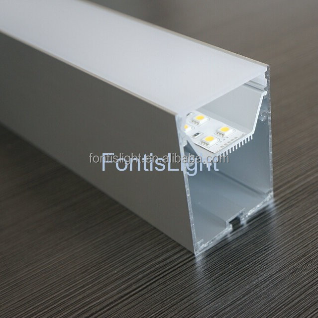 aluminum LED profile ALP056 for pendent light With movable heatsink easy for installation