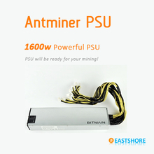Antminer Power Supply 1600W server power supply AntMiner APW3-12-1600 PSU for Antminer S7 Powerful Bitcoin Mining PSU