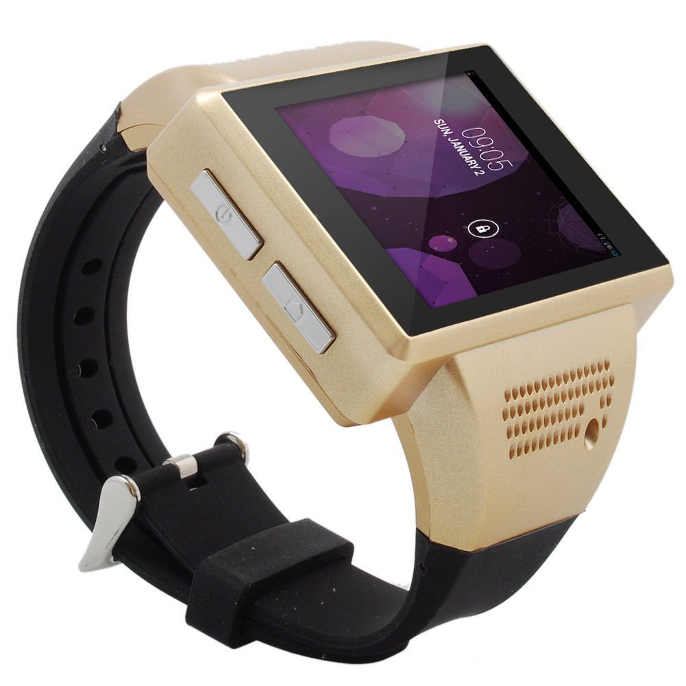 03aed2160 Get Quotations · Hopezone Smart Watch Phone Android Mobile Smartwatch An1  with SIM Touch Screen Handwriting Mp3 Mp4 Fm