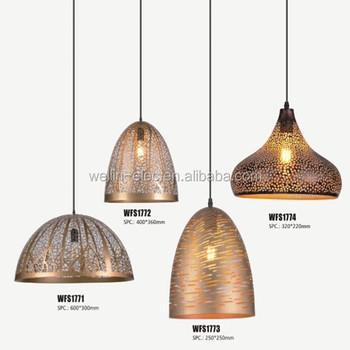 Buy Éclairage e27 Led Métal E27 Lampe Pendentif Lampe Intérieur décoration Lustre Lampe Suspendu Edison led Ampoule Luminaire En KculJ3TF1