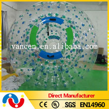 3m giant roll inside inflatable water roller walking ball