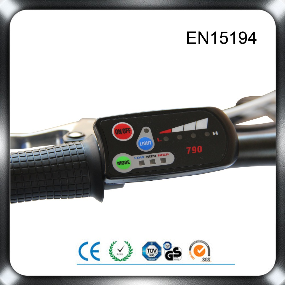 24V//36V e-Bike 3-speed PAS LED Control Panel//Display Meter-880 for Electric Bicycle DIY Conversion Parts
