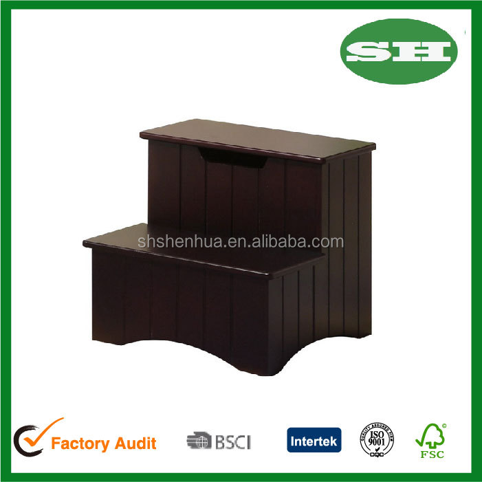 for Cherry wood step stool bedroom