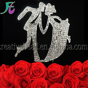 New products 2018 bride and groom wedding cake toppers